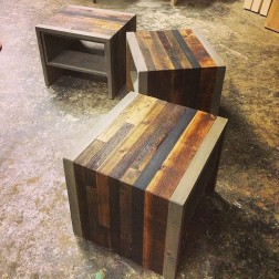 Cladded End Tables